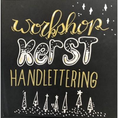 Workshop Handlettering 'Kerst-thema'