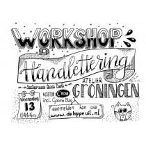 13 okt 2021 Workshop Handlettering