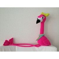 haakpatroon floor de flamingo