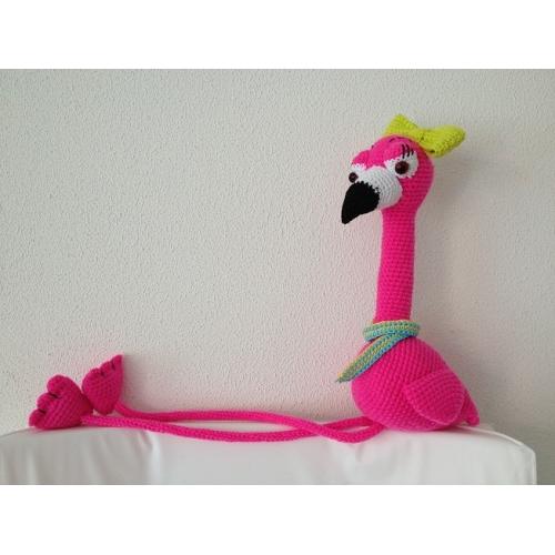 Haakpatroon Floor De Flamingo