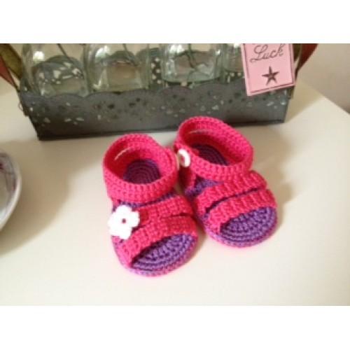 Haakpatroon Baby Sandaal